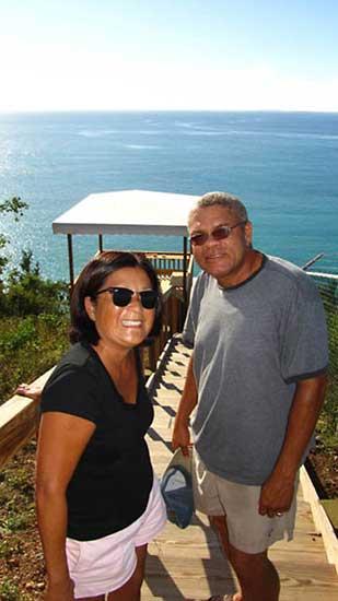 top of pelican bay trail