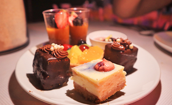 Cheesecakes, Chocolate Cakes & Mousse at Beach BBQ Buffet At Belmond Cap Juluca