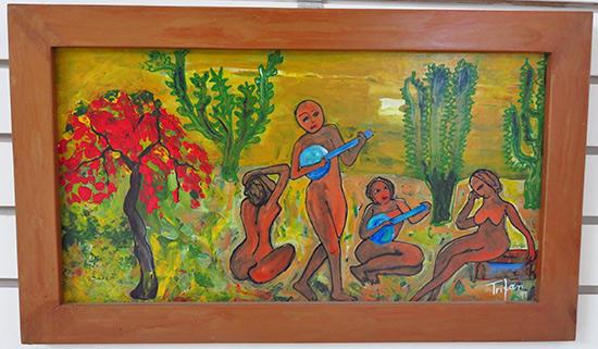oil on canvas by lucia tritan