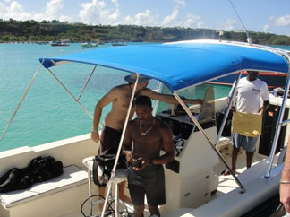 Anguilla diving, Douglas Carty, Special 'D' Diving, Sandy Ground