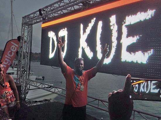 dj kue set at anguillas carnival