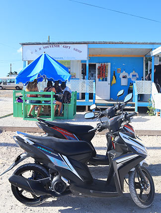 d&d car rental and scooter rental in blowing point anguilla
