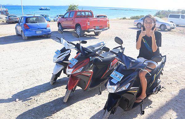 ready to rumble with dnd scooters anguilla