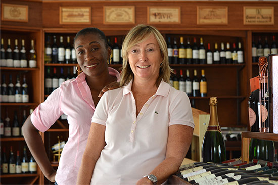 nathalie and donette of grands vins de france