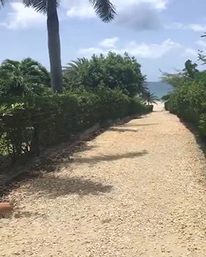 path to long bay beach