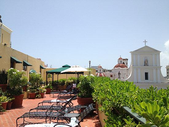 el convento roof top area