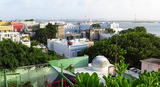 view from el convento terrace
