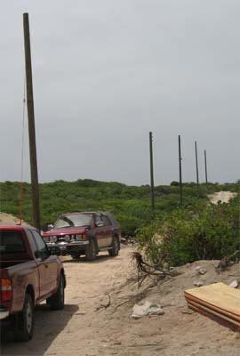Anguilla electrical poles