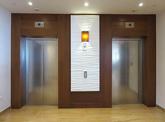 hotel elevators at the reef anguilla