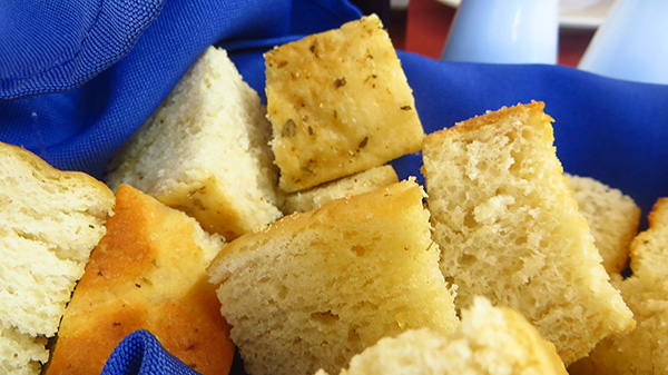 elite focaccia bread