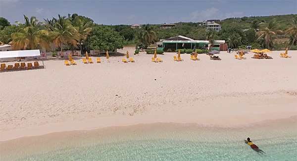 elodias beach bar and restaurant on shoal bay east