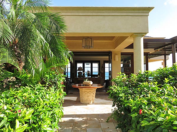 main house at bird of paradise villa