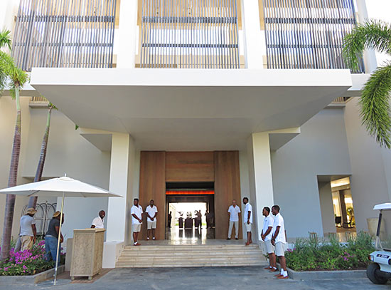 four seasons anguilla hotel entrance