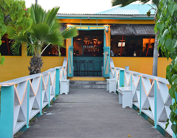 approaching picante for dinner, anguilla