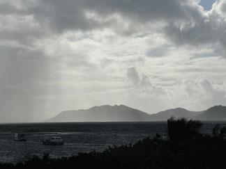 Anguilla, Ferryboat Inn, View of St. Martin