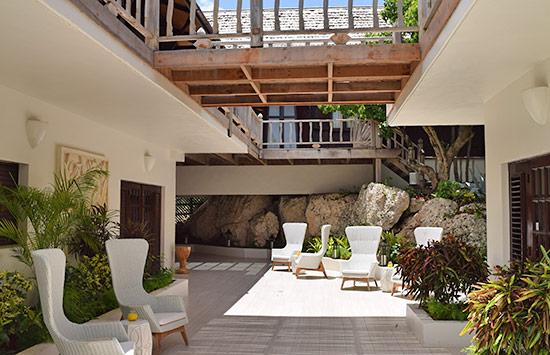 first steps inside zemi beach thai house spa