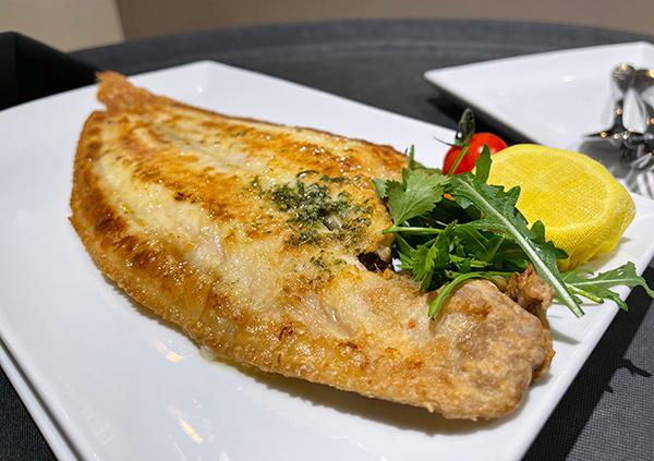 Fish Fillet at Bacchus