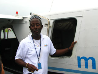 anguilla airport pilot