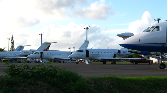 private jets anguilla