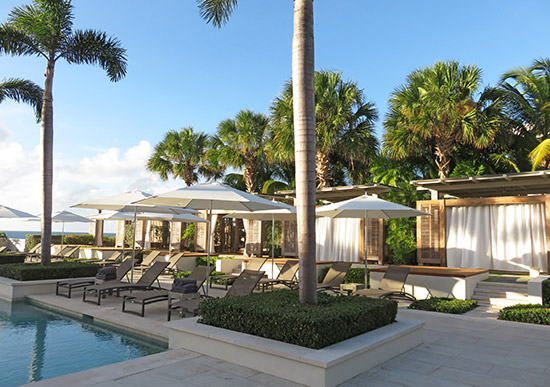 pool cabanas at aleta at four seasons anguilla