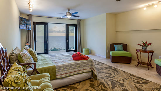 first floor suite in sunset beach house