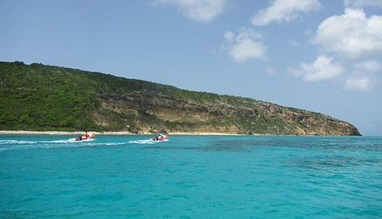approaching long bay anguilla