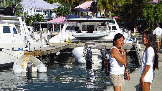 at frenchmans cay with mom