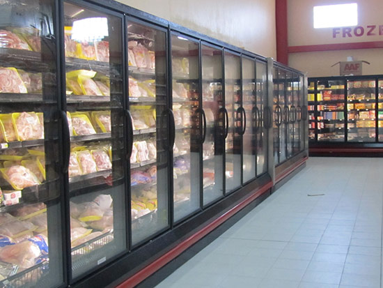 meat fridges