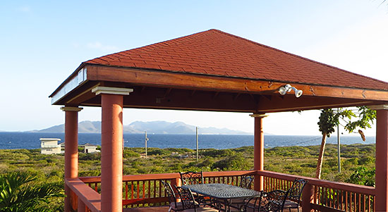 Anguilla condos ocean terrace for Terrace gazebo