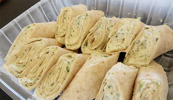 gerauds smoked salmon rolls
