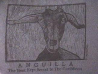 Anguilla goat t-shirt