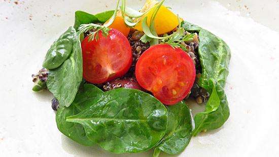 malliouhana mixed grain salad for lunch