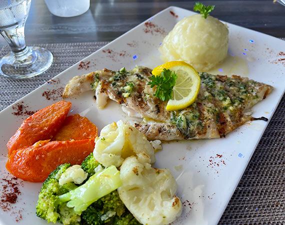 Grouper Fillet at Movida Rotisserie & Grill