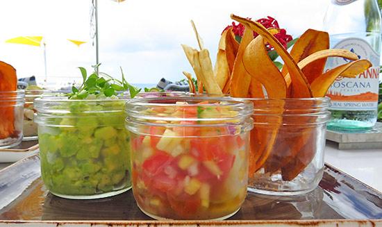 malliouhana guacamole for lunch