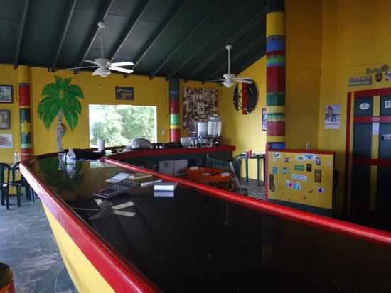 inside gwens reggae grill