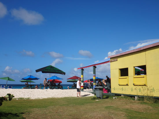 gwens reggae grill on shoal bay east