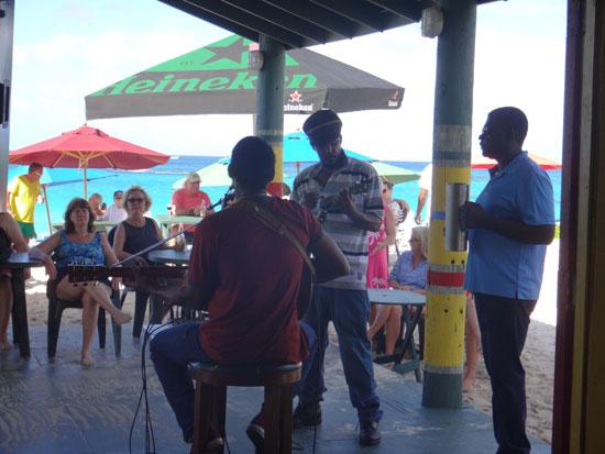 Anguilla, Gwen's Reggae Grill, restaurant, bar