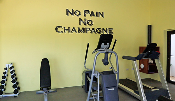 Gym at Champagne Shores