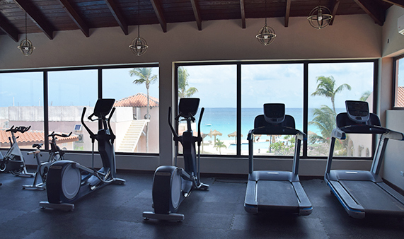 gym at frangipani