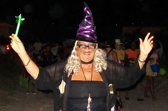 Anguilla Halloween, Ripples, Jacquie, October in Anguilla
