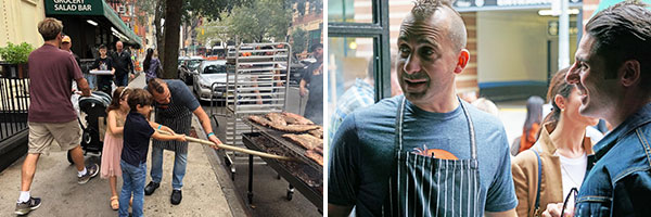 chef marc forgione fundraiser