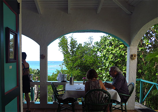 hibernia anguilla resaturant lunch