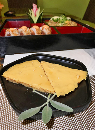 Philippine Flan at oishi