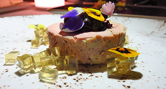 hudson valley foie gras au torchon at malliouhana