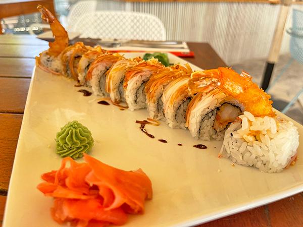 Hungry Roll at La Playa Restaurant & Bar
