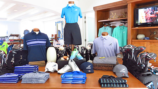 golf pro shop at cuisinart