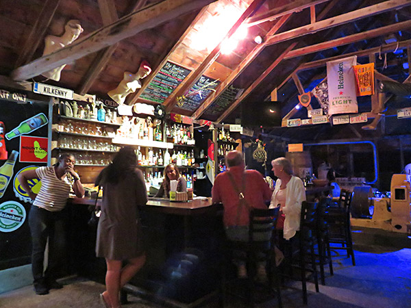 inside pumphouse restaurant anguilla