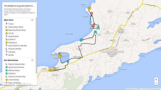 north shore anguilla itineraries
