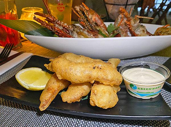 Japanese Tempura Fish Fingers at IWASATTHEBAR