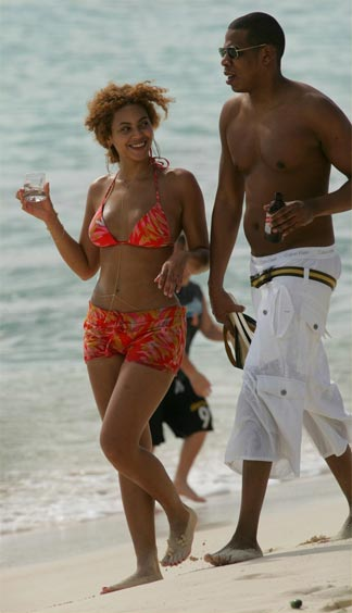 Jay-Z Jets to Anguilla With Beyonce
